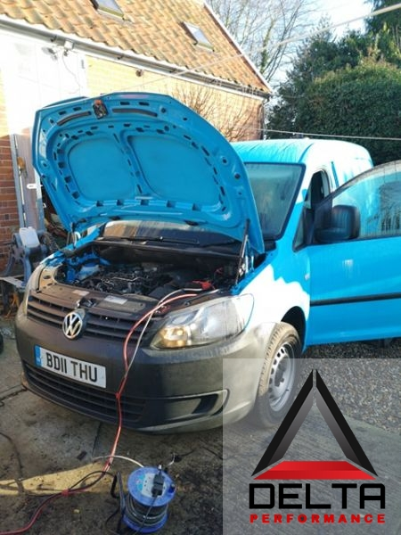 VW Caddy 1 6TDi Remap and speed limiter removal